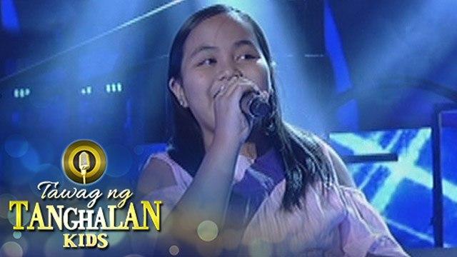 Tawag ng Tanghalan Kids: Fregemila Estrada | You