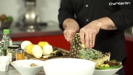 CHUTNEY de mangues/poires/ananas: Mon alternative au KETCHUP !