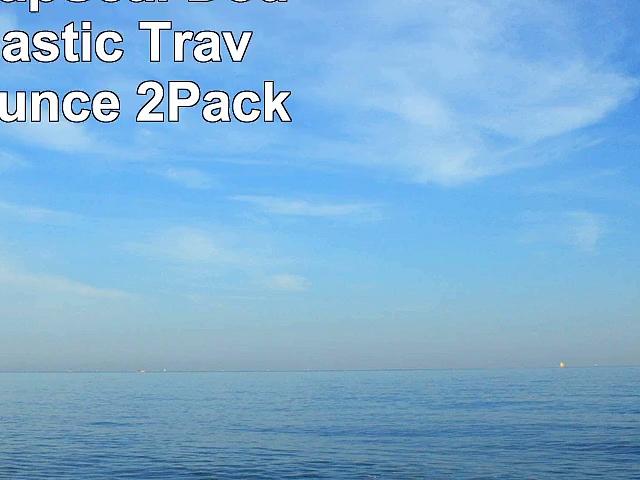 Contigo SnapSeal DoubleWall Plastic Travel Mug 16Ounce 2Pack