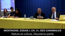II. Montaigne, Essais I, ch. 31, Des cannibales, Jean-Louis POIRIER
