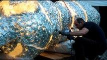 تماثيل من أقراص سي دي مصهورة | يوروماكس