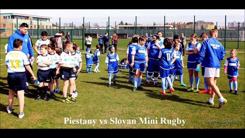 Piestany vs Slovan Turnaj Mini Rugby - Trnava March 2017