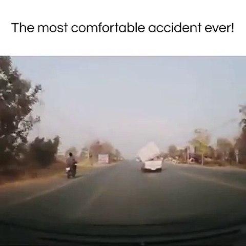 Konforlu Motosiklet Kazası