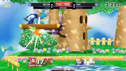 Novato vence lenda do Smash Bros. e leva a galera a locura