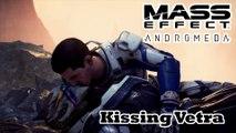 Mass Effect: Andromeda - Kissing Vetra Nyx Scene