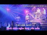 [ KARAOKE ] Nụ Hôn Và Nước Mắt Remix - Lâm Chấn Huy