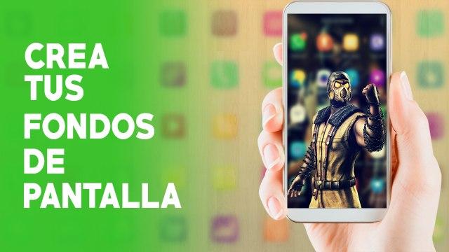Crea tus fondos de Pantalla Android & IOS