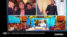 Cyril Hanouna - TPMP : Valérie Bénaïm s'est faite draguée par Alain Delon (vidéo)