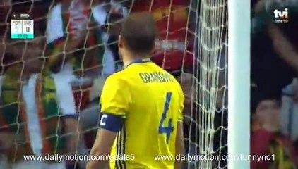 Andreas Granqvist OWN Goal Portugal 2 - 0 Sweden Friendly 28-3-2017