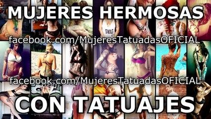 Mujeres hermosas con tatuajes