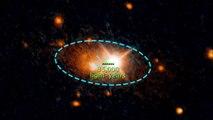 Hubble Detects a Rogue Supermassive Black Hole - HD