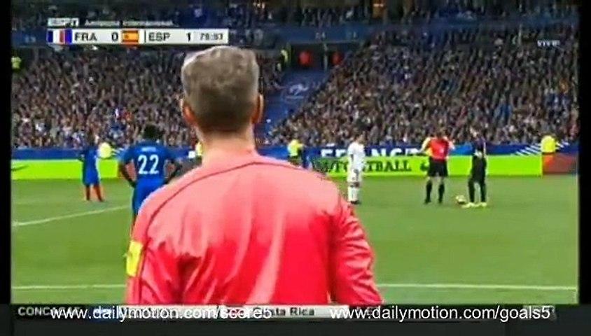 Gerard Deulofeu Goal France 0 - 2 Spain Friendly 28-3-2017