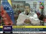 Maduro destaca discursos en defensa de la paz de varios países de OEA