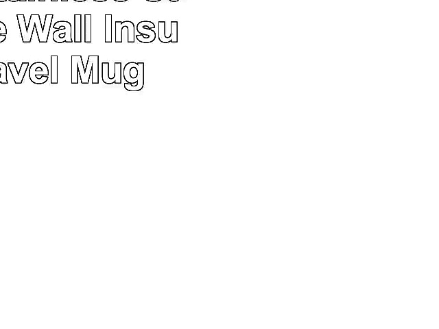 Prepara Stainless Steel Double Wall Insulated Travel Mug