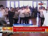 BT: 22 party-list representatives, nanumpa na kay house speaker Sonny Belmonte