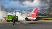 Peru'da uçak kazası