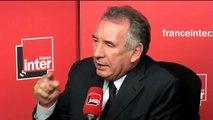 """François Bayrou sur le renouveau politique :  """"Il y a dans cette élection une chance de refondation, y compris pour la droite"""""""