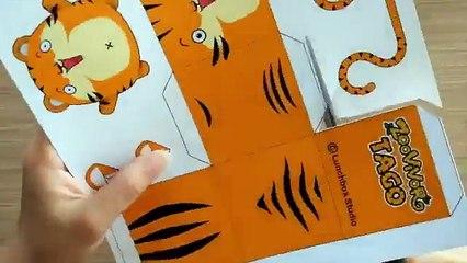 Paper Craft | Zoovivor cartoon animation