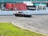 Supercharged Chevy Corvette Burnout Drifting part1