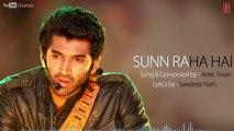 Sunn Raha Hai Na Tu Aashiqui 2 Full Song With Lyrics - Aditya Roy Kapur, Shraddha Kapoor