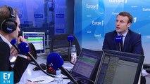 Réformes, chômage, europe : Emmanuel Macron répond aux questions de Fabien Namias