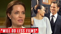 Angelina Jolie Reveals Life Plan After DIVORCE With Brad Pitt | Angelina Jolie Interview With Hello!