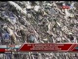 SONA:  Ika-13 anibersaryo ng pagguho ng basura sa Payatas, ginugunita ngayong araw