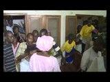 Khalifa Sall et ses partisans jubilent aprés leur victoire sur mimi