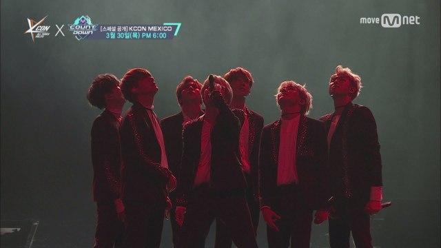KCON 2017 Mexico×M COUNTDOWN 스페셜 무대|방탄소년단 (BTS) _ 피 땀 눈물 (Blood Sweat Tears)