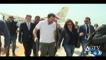 Matteo Salvini in visita a Lampedusa NewsAgtv