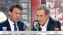 Manuel Valls trahit Benoît Hamon en soutenant Emmanuel Macron - ZAPPING ACTU DU 29/03/2017