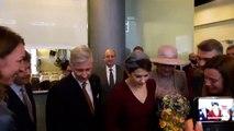 Le roi Philippe, la reine Mathilde et la princesse Mary du Danemark à la cinémathèque de Copenhague