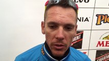 Philippe Gilbert, réaction après la deuxième étape des Trois Jours de La Panne