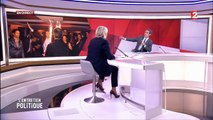 Marine Le Pen s'énerve face à David Pujadas