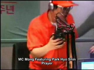 MC Mong Featuring Park Hyo Shin Prayer (Live) ENG SUB