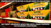 Which color will Crayola retire on National Crayon Day?