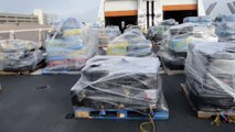 16 t de cocaína valorada en 420 millones. La Guardia Costera de EE.UU. muestra sus últimas capturaa