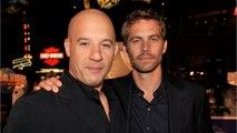 Vin Diesel Honors Paul Walker