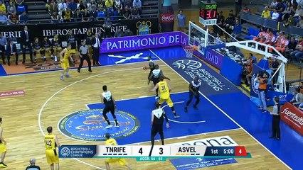 Tenerife / ASVEL : les highlights