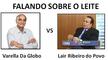 Dr Lair Ribeiro VS Drauzio Varella da Rede Globo Tema o LEITE