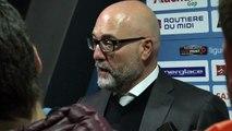 Hockey : Luciano Basile analyse le match des Rapaces de Gap face aux Dragons de Rouen (5-3)