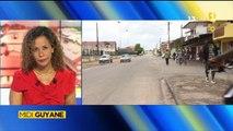 Reportage de ma nièce Alice pour Midi 1ère Guyane - Saint-Laurent du Maroni, les produits frais commencent à manquer