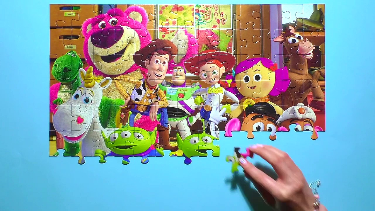 Learn Puzzle TOY STORY Potato 145