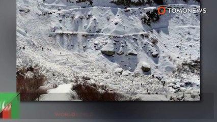 Avalanches no Afeganistão e Paquistão matam mais de 100.
