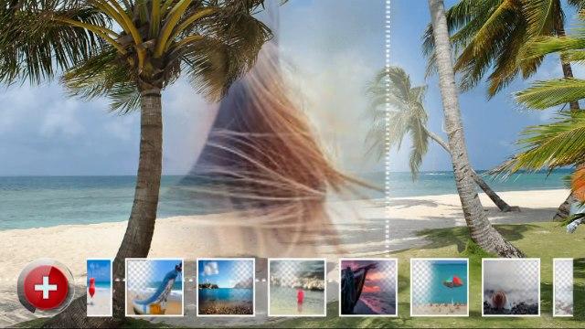 Beach Frames Photo Editor