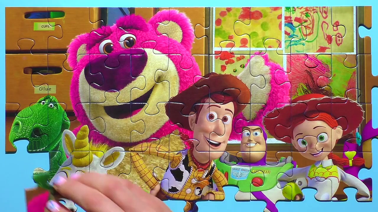 Learn Puzzle TOY STORY Potato Head, Woody, Buzz Laaa