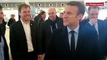 """Congrès FNSEA. Macron veut faire face """"aux nouveaux défis"""""""