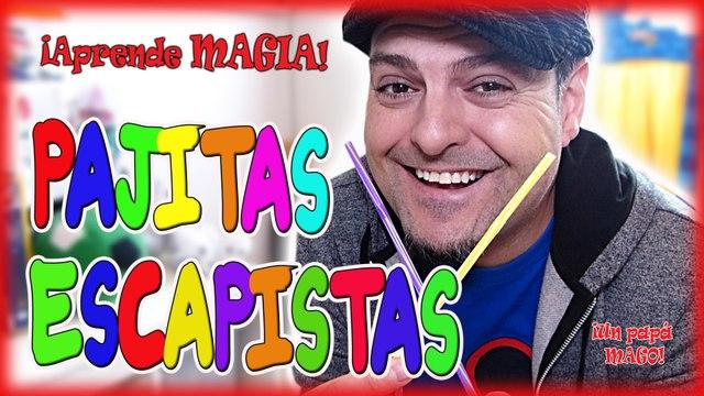 TRUCO DE MAGIA   PAJITAS ESCAPISTAS   APRENDE MAGIA   is Family Friendly