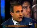 Tom Cruise part dans un délire sur la Scientologie