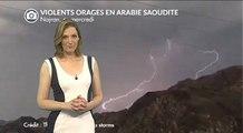 Arabie Saoudite : violents orages, crues de grêle et tornade
